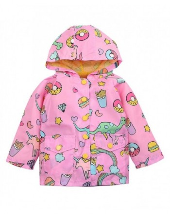 Lightweight Unicorn Raincoats Cartoon Hoodie Coat