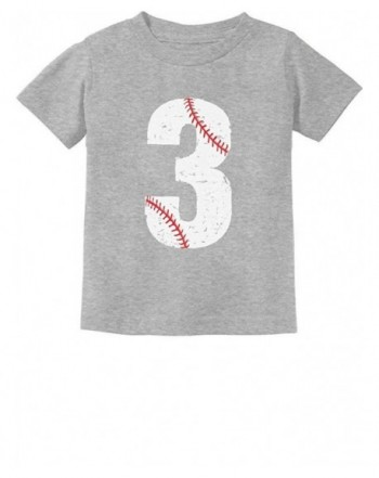 TeeStars Baseball Birthday Toddler T Shirt