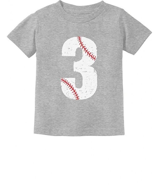TeeStars Baseball Birthday Toddler T Shirt