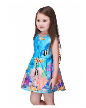 Kidscool Little Girls Sleeveless Princess