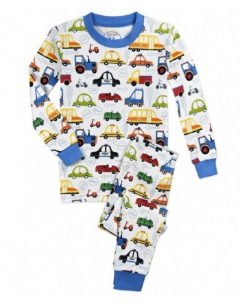 Saras Prints Toddler Pajamas Cartoon