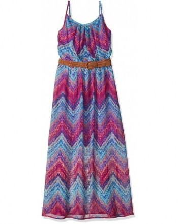 Amy Byer Girls Print Dress