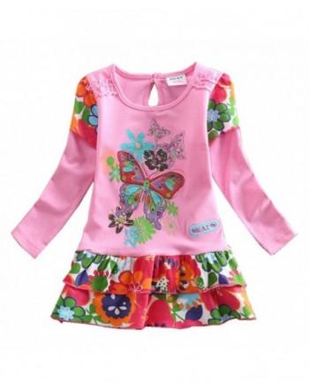 JUXINSU Toddler Dresses Butterfly Clothes