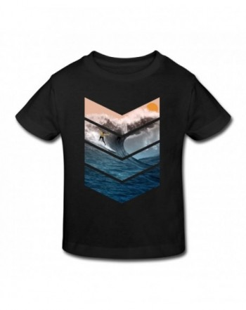Sunrise Toddler T Shirt Surfing Graphic