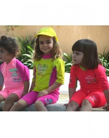 Hot deal Girls' Rash Guard Sets Clearance Sale