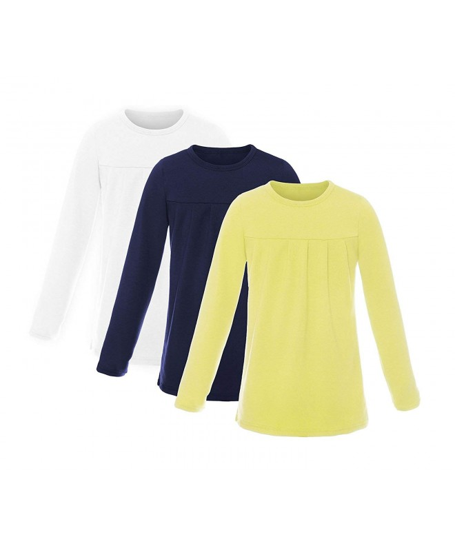 ReliBeauty Girls Long Sleeve Ruched