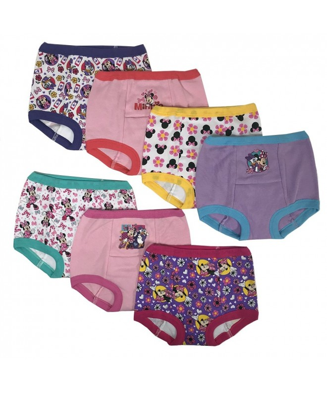5b57ab1b405f Girls Potty Training Pants Panties Underwear Toddler 7-Pack Size 2T ...