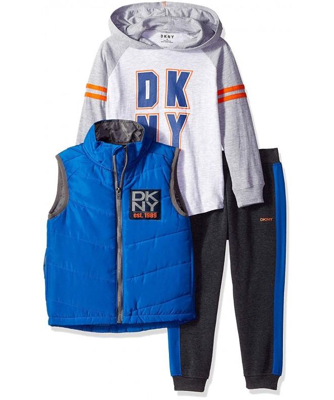 DKNY Avenue Puffer Hoodie Fleece