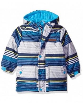Wippette Boys Striped Ski Jacket