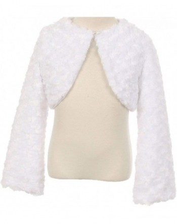 Little Fluffy Chenille Button Sweater
