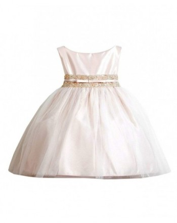 Sweet Kids Vintage Metallic Pageant