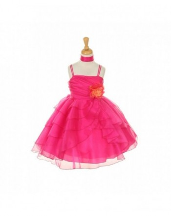 Cinderella Couture CinderellaCouture CC1177 asymetric layered ruffled