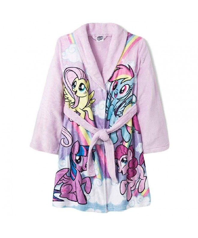 My Little Pony Girls Blue Bath Robe