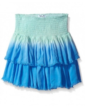 Splendid Girls Frayed Edges Skirt