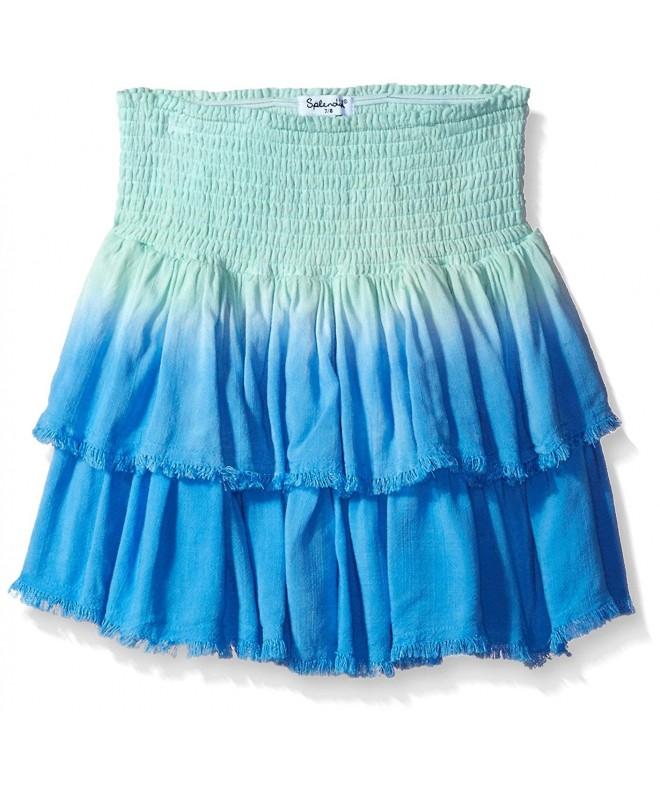 Splendid Girls Frayed Edges Skirt