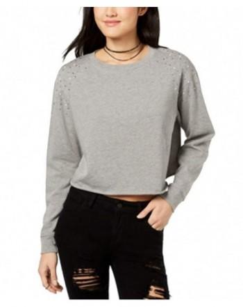 Ultra Flirt Juniors Embellished Sweatshirt