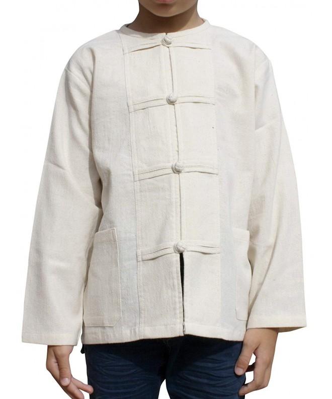 RaanPahMuang Cotton Childrens Collar Button