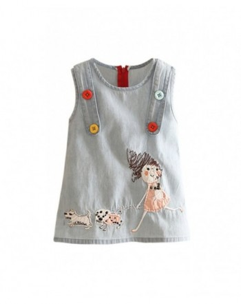 Mud Kingdom Little Cartoon Sundresses