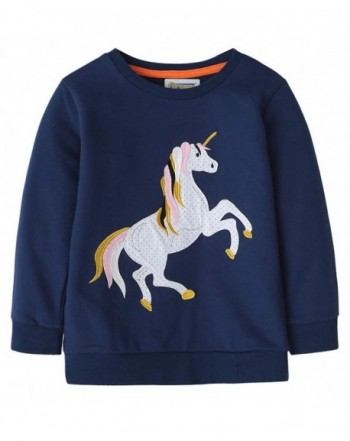 Fiream Cotton Crewneck Embroidery Sweatshirts