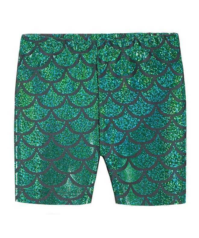 or Under Skirts Made in USA City Threads Girls 100/% Cotton Bike Shorts for Sports School Uniform