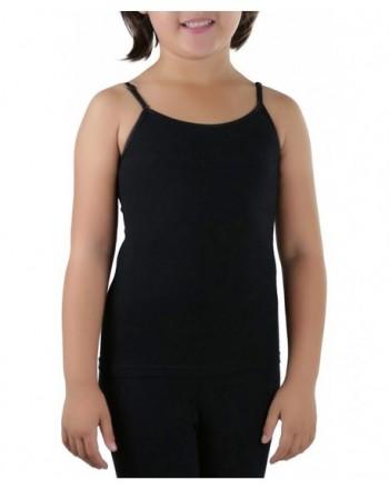 ToBeInStyle Girls Adjustable Cotton Spandex Camisole
