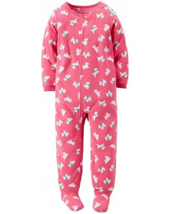 Carters Little Girls Footie Kid