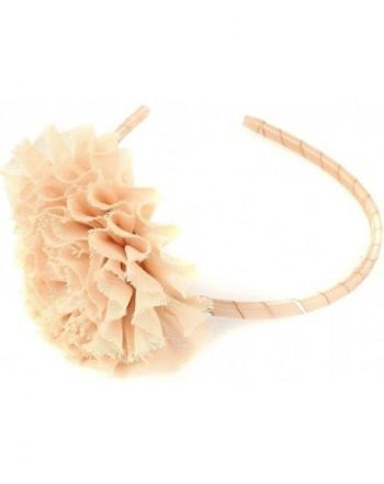 BluNight Collection Ruffle Flower Headband