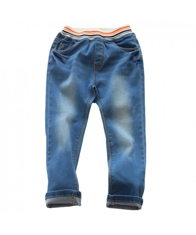 Abalacoco Jeans Cotton Stretch Trousers