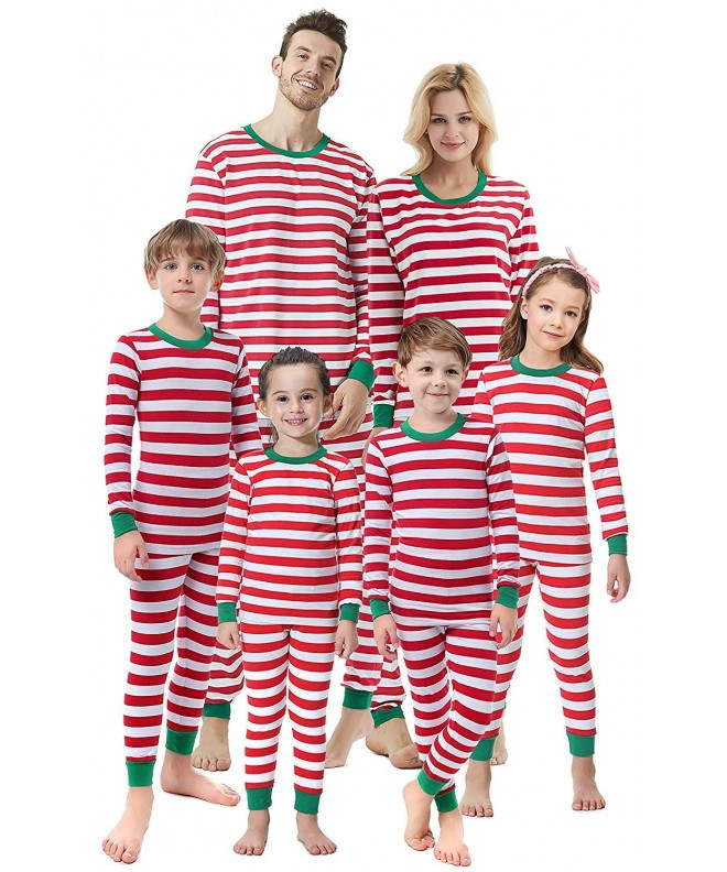 Matching Family Christmas Pajamas.Matching Family Christmas Boys Girls Pajamas Striped Kids Sleepwear Children Clothes Red Striped Christmas Cj18h27rwkt