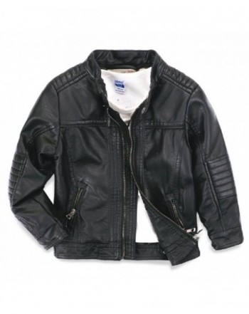 LJYH Leather Jacket Childrens Motorcycle