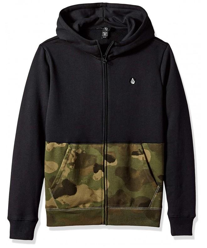Volcom Single Colorblock Fleece Sweatshirt
