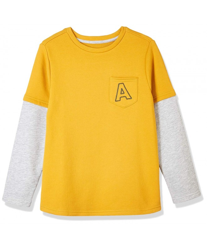 Awesome Youth Long Sleeve Layered Pocket