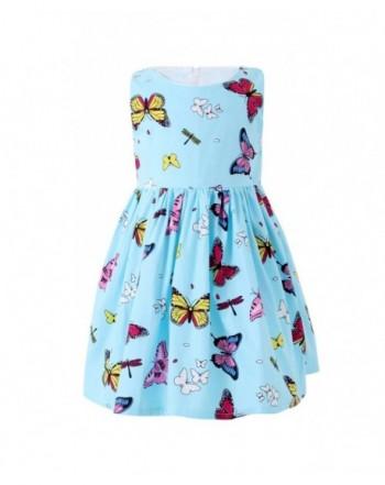 SMILING PINKER Butterfly Dresses Toddler