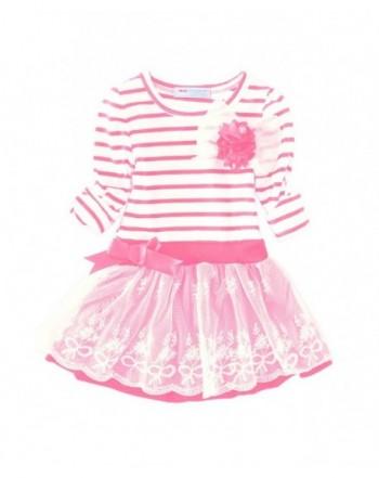 Mud Kingdom Dresses Sleeves Stripe