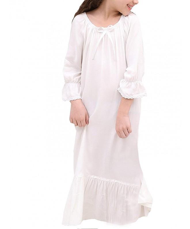 ROLECOS Princess Nightgowns Sleepwear Nightdress
