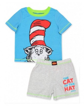 Seuss Toddler Shorts T Shirt Pajamas