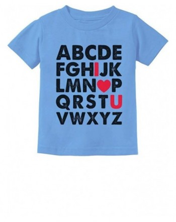 TeeStars Alphabet Love Toddler T Shirt