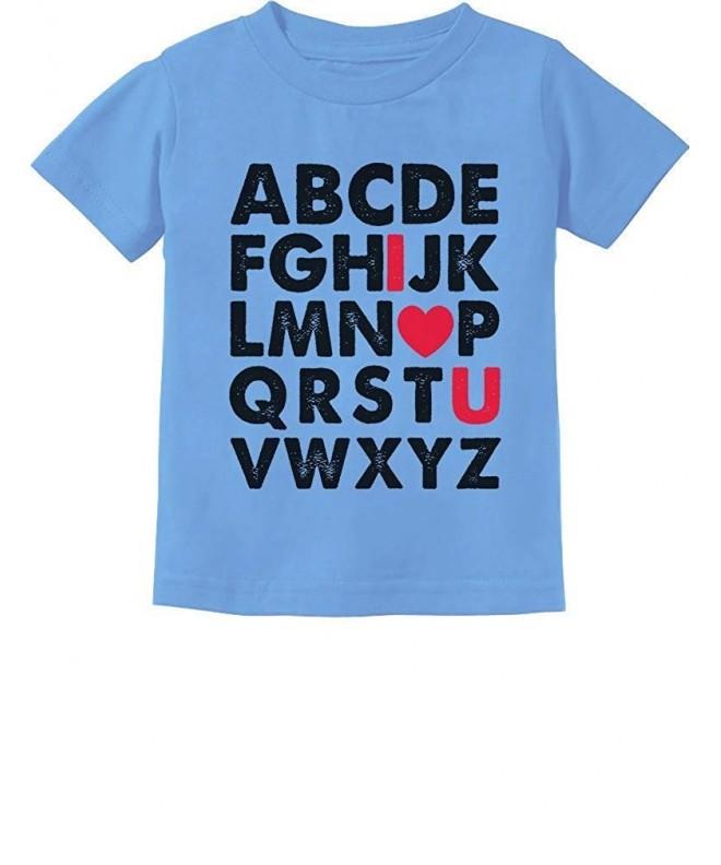 TeeStars Alphabet Love Toddler T Shirt