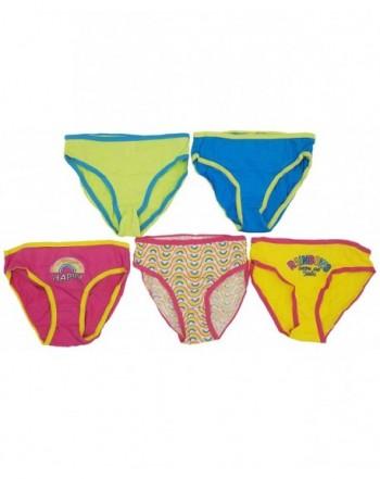 Underwear Colorful Printed Children Rainbows
