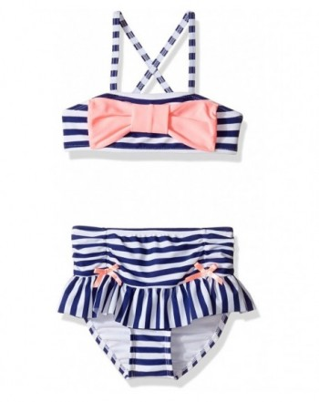 Hulu Star Girls Enchanted Paisley Two Piece Bikini Swimsuit