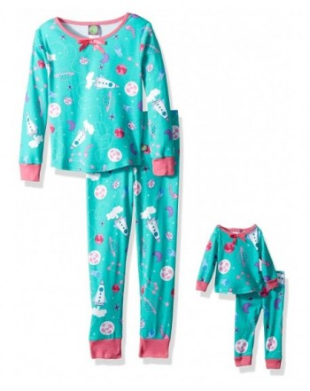 Dollie Me Girls Snugfit Sleepwear