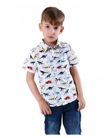 Abolai Sleeve Pocket Dinosaur Pattern