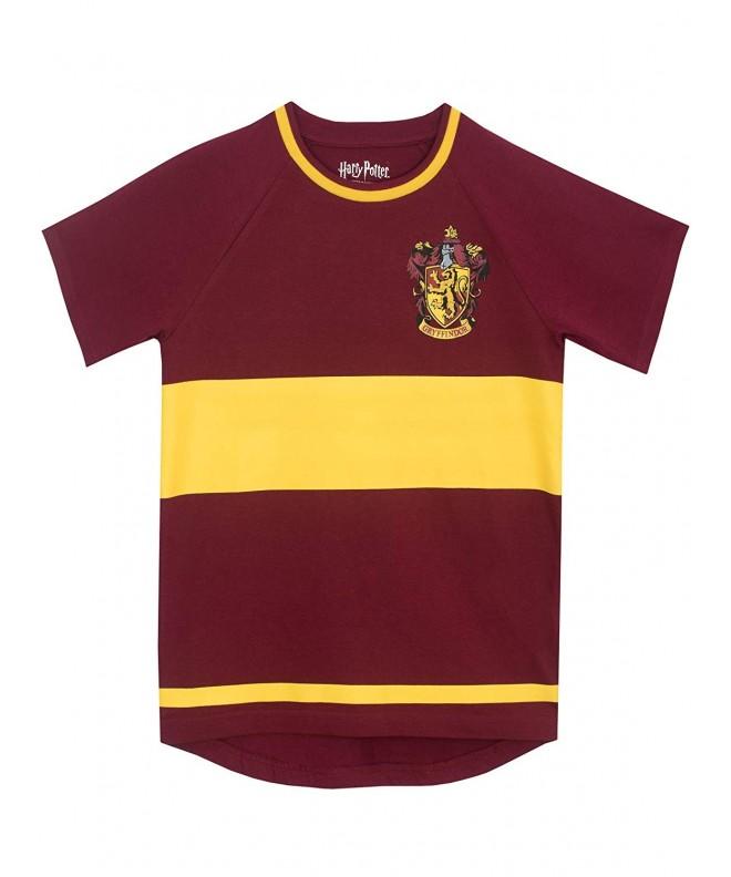Harry Potter Gryfindor Quidditch T Shirt