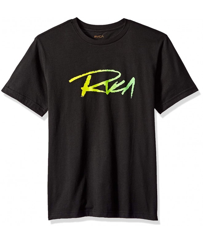 RVCA Boys Skratch Short Sleeve
