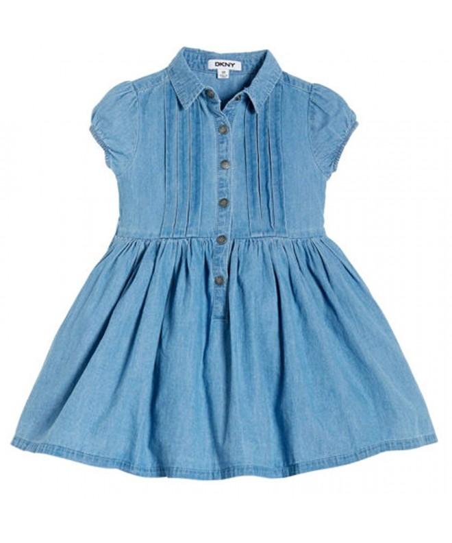 DKNY Sleeve Dress Collar Girls