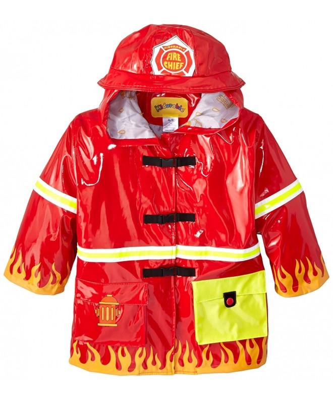 Kidorable Fireman All Weather Raincoat Reflective