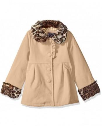 Ok Kids Girls Wool Leopard