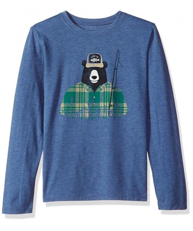 Life Good Sleeve Fisher T Shirt