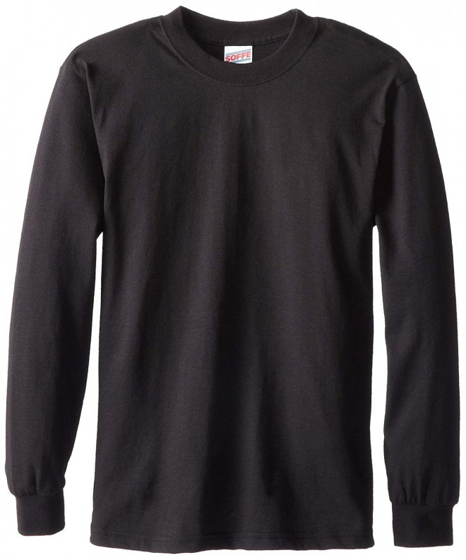 Soffe Boys Cotton Sleeve T Shirt