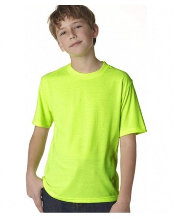 JERZEES Youth Polyester Sleeve T Shirt